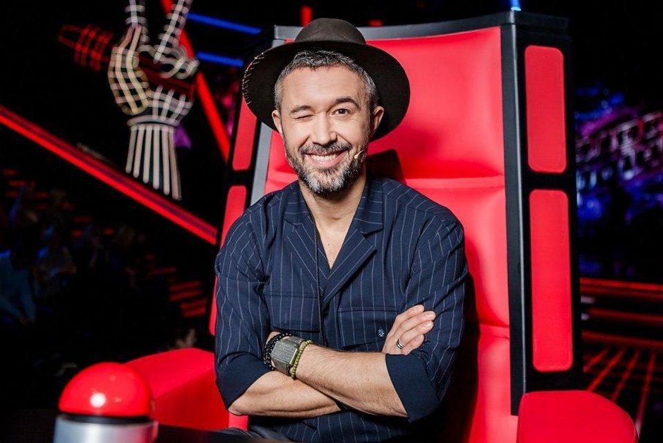 Российская певица член жюри голос украины