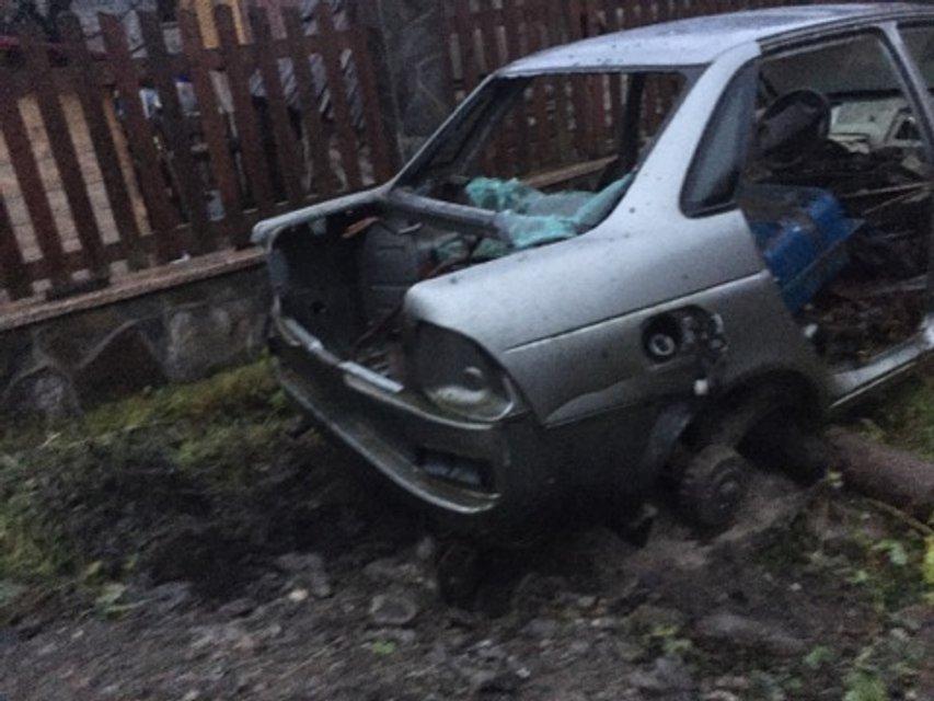 На Закарпатье подорвали автомобиль депутата, разоблачившего лесников-убийц рыси - фото 93106