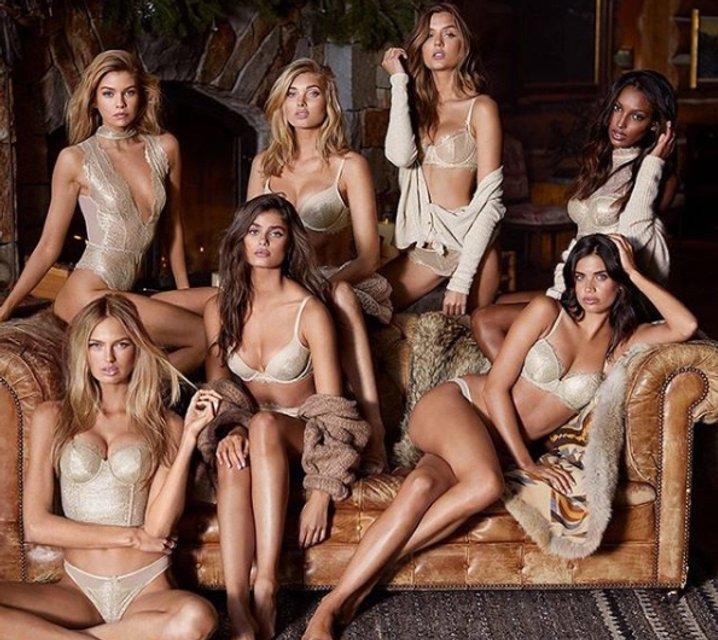 Новая коллекция Victoria's Secret - фото 86471