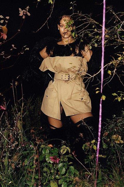 Рианна в странном образе снялась для 4 обложек модного глянца - фото 92260