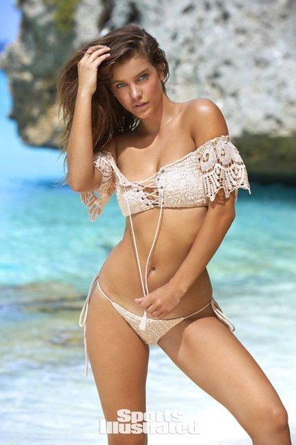 Супермодель Барбара Палвин восхитила фигурой в пляжной фотосессии (18+) - фото 94931