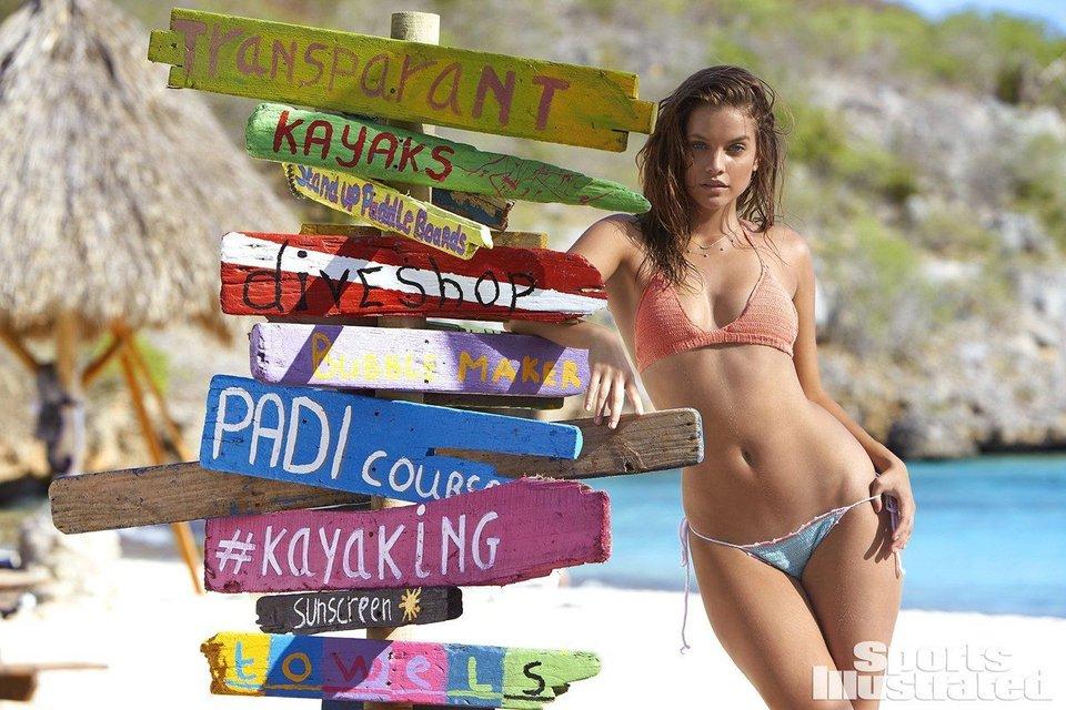 Супермодель Барбара Палвин восхитила фигурой в пляжной фотосессии (18+) - фото 94928
