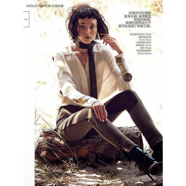 Крымскотатарская модель украсила обложку всемирно известного глянца - фото 95692