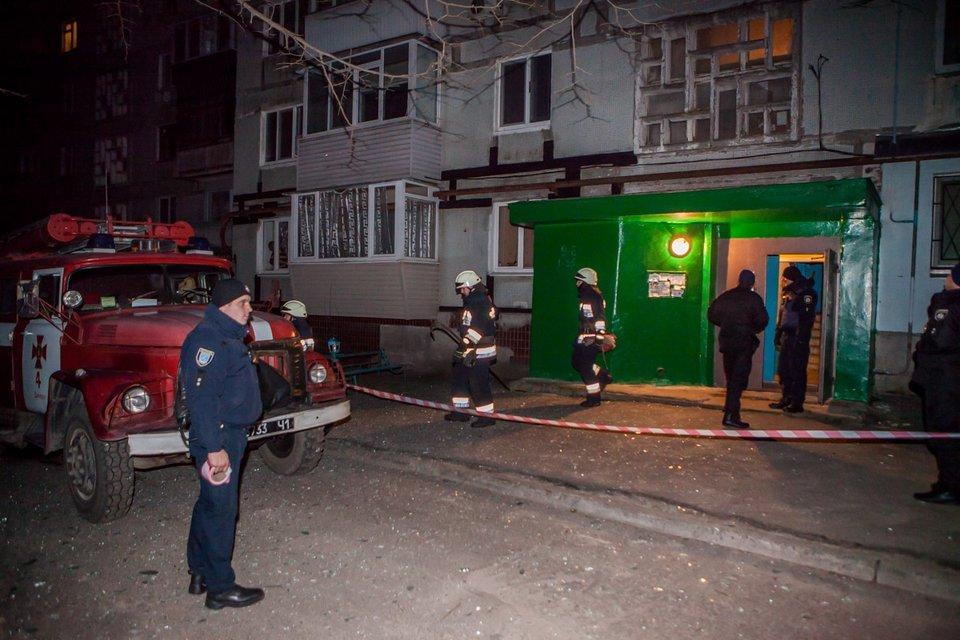В многоэтажке в Днепре прогремел взрыв - фото 99057