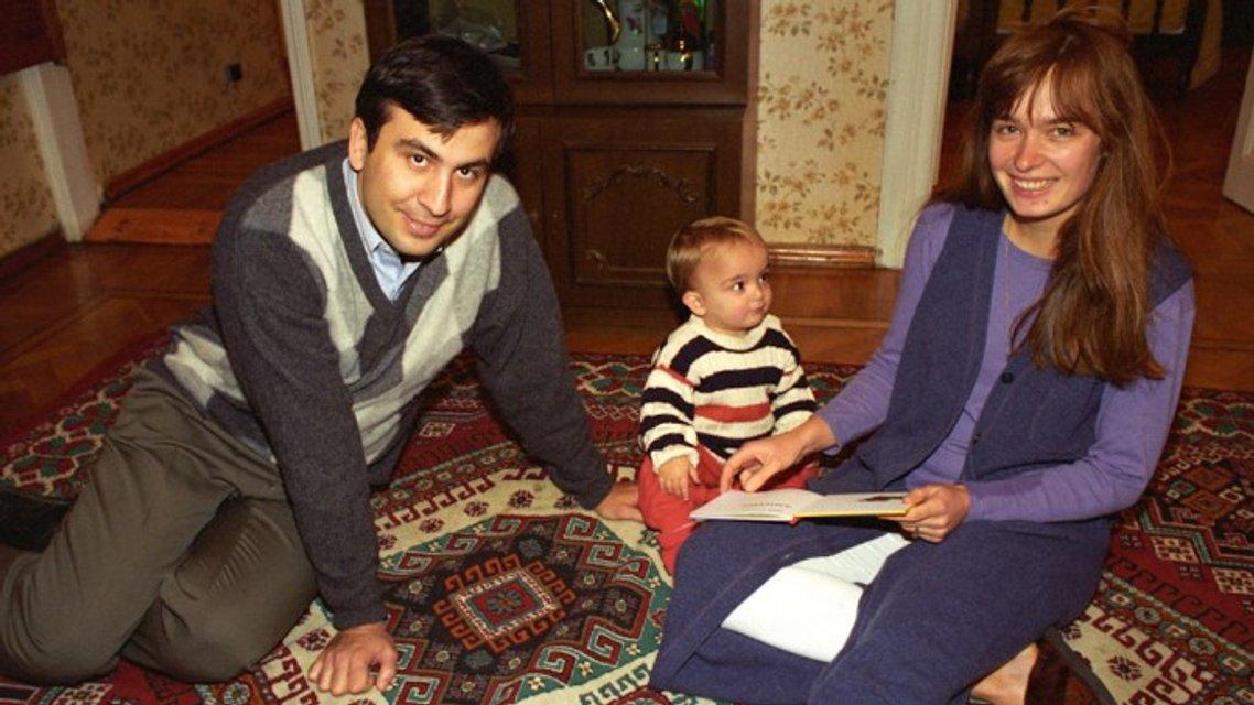 Жена Саакашвили: Что известно о Сандре Рулофс - фото 96377