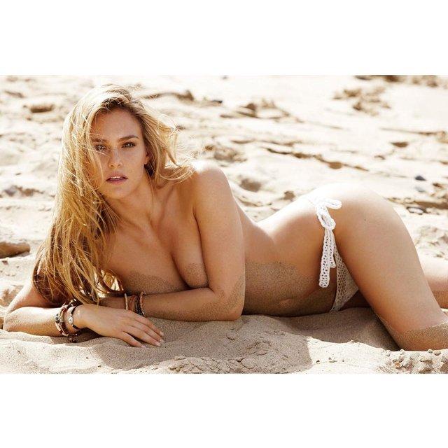 Супермодель Бар Рафаэли порадовала обнаженными снимками с пляжа, 18+ - фото 95384