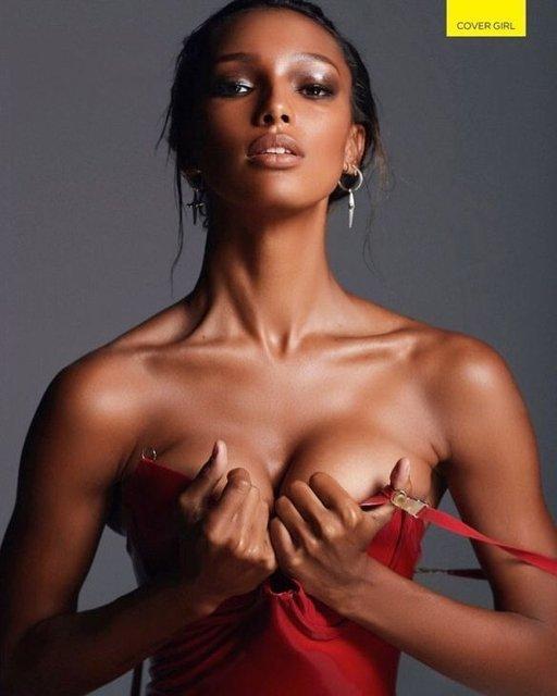 Жасмин Тукс обнажилась для мужского журнала, 18+ - фото 95652