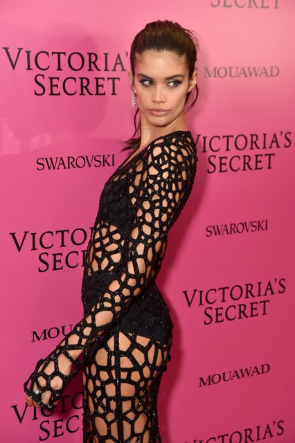 Модели Victoria's Secret разделись в бассейне для откровенного клипа - фото 97074