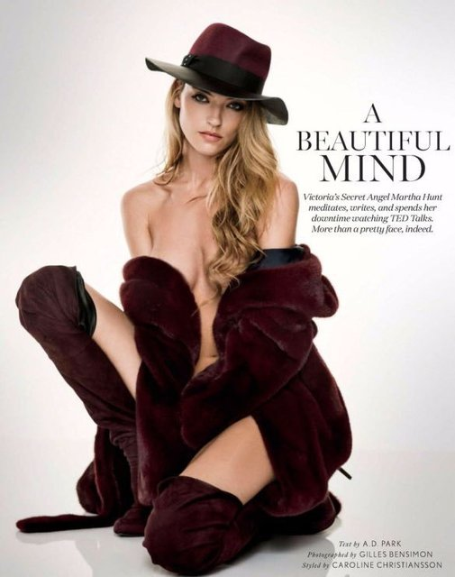 Голая супермодель снялась в откровенной фотосессии для мужского журнала, 18+ - фото 94855