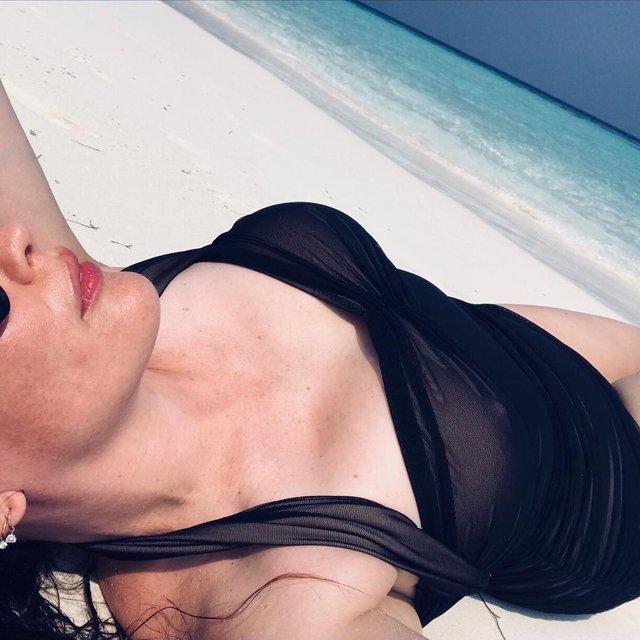 Лив Тайлер засветила грудь в прозрачном белье, ФОТО 18+ - фото 99273