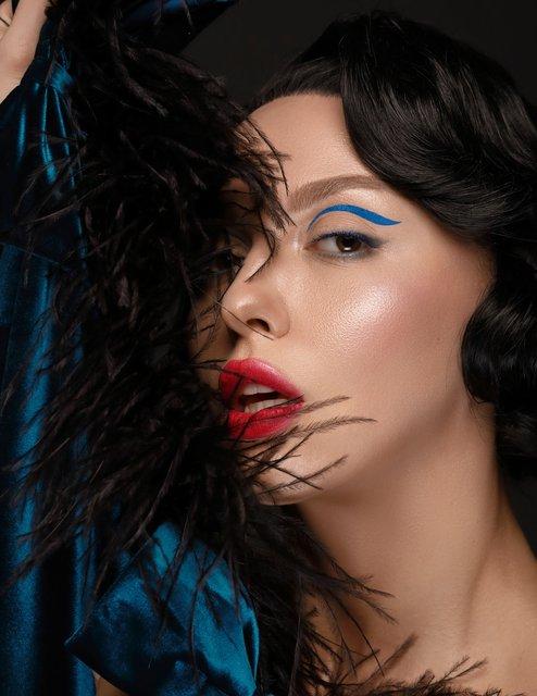 Оля Полякова рассталась с платиновым цветом волос (фото) - фото 100079