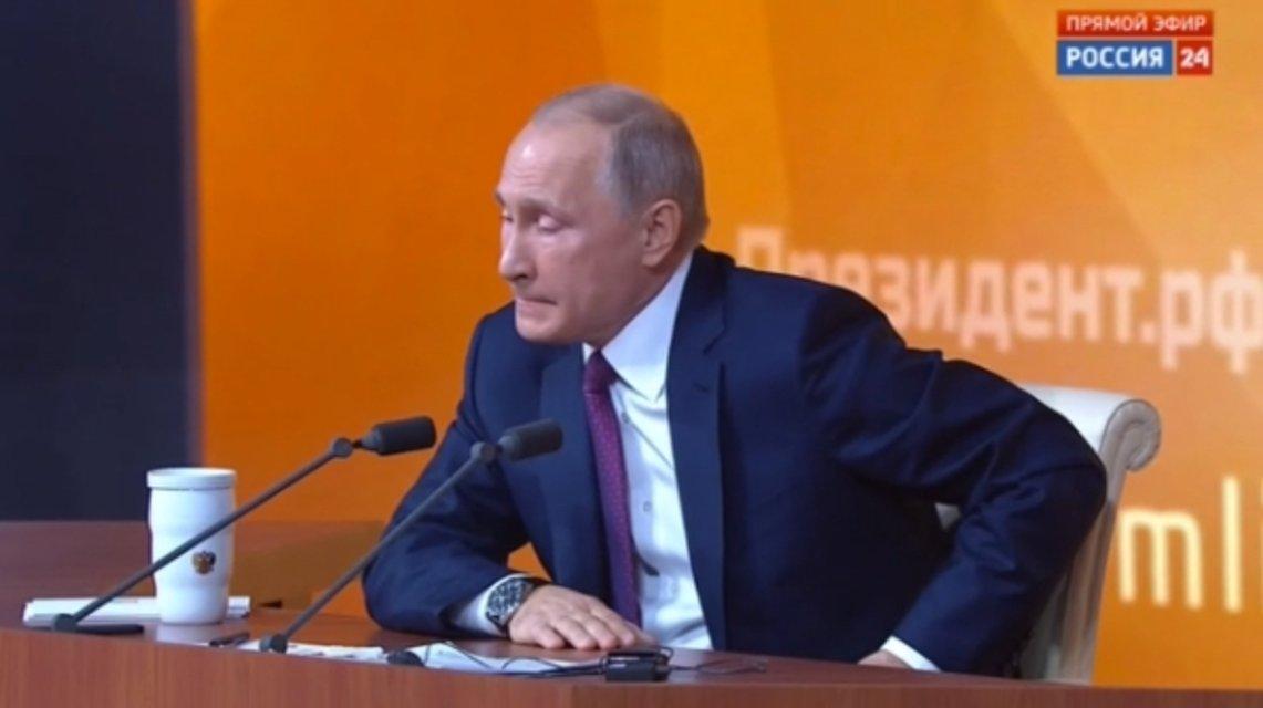 Самое дикое из пресс-конференции Путина - фото 97040