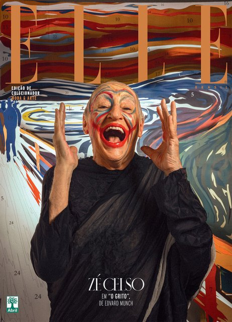 Elle воспроизвел на обложке работы Климта и да Винчи с обнаженными моделями - фото 95812