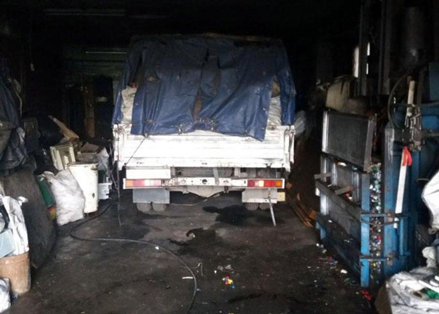 Пожар на складе, погибли 2 мужчины - фото 94572