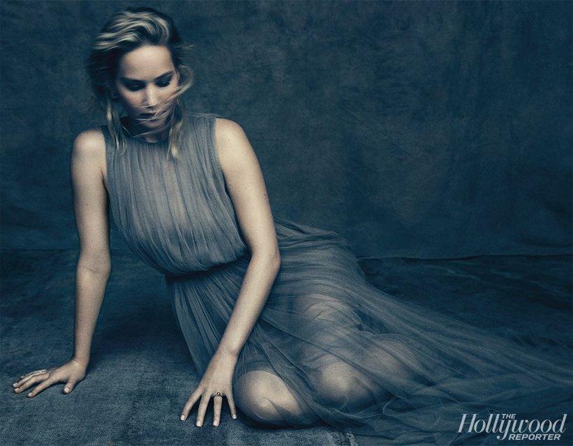 Дженнифер Лоуренс снялась в чувственной фотосессии и рассказала о жизни актрисы - фото 95461