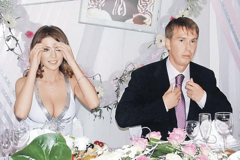 Анна Седокова с первым мужем - фото 97526