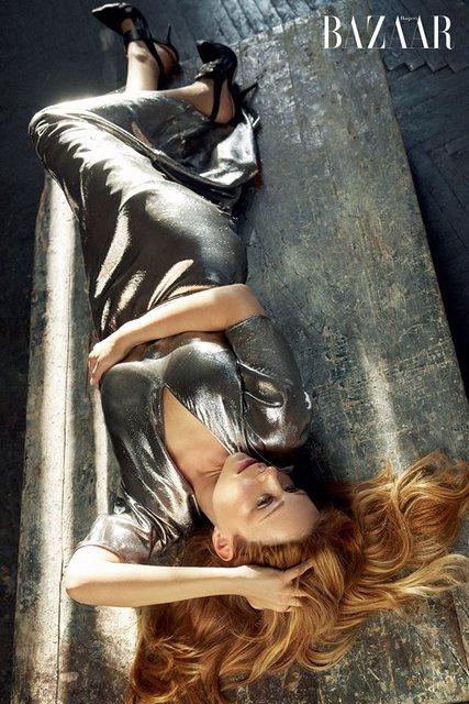 Тина Кароль разделась для откровенной фотосессии модному глянцу, ФОТО - фото 99291