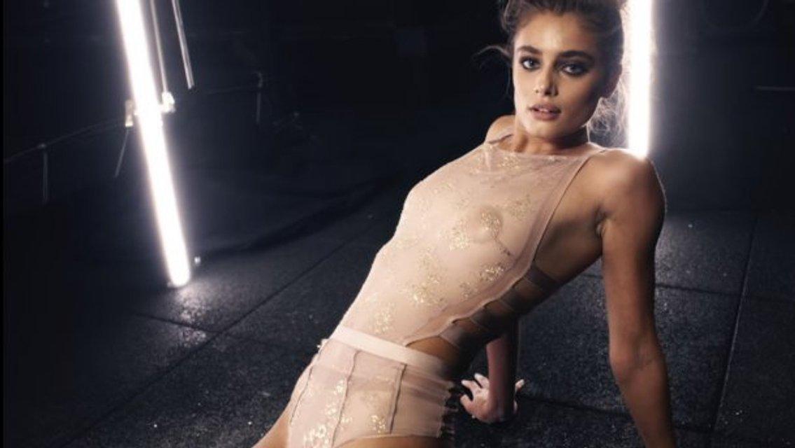 Тейлор Хилл без белья засветила грудь в  прозрачном наряде,  видео 18+ - фото 96217