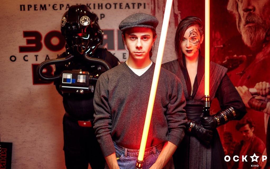 Украинские звезды первыми посмотрели 'Звездные Войны: Последние джедаи' (фото) - фото 96807