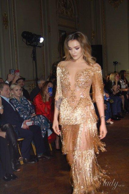 В прозрачном платье и без бюстгальтера: Дочь Михаила Добкина стала моделью (фото) - фото 94308