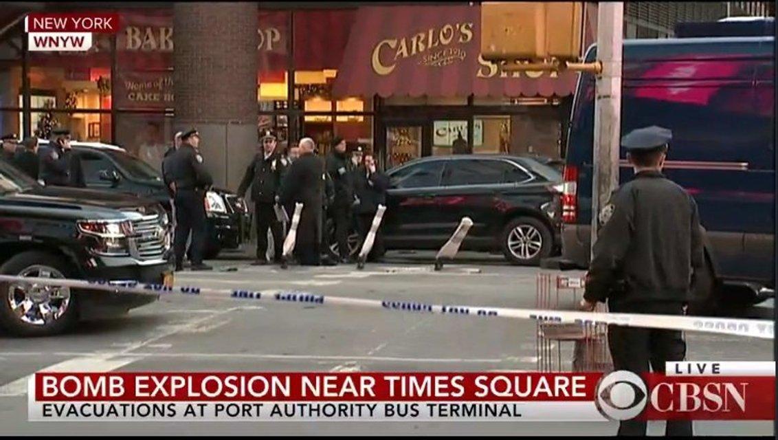 Возле вокзала в Нью-Йорке прогремел взрыв - фото 96335