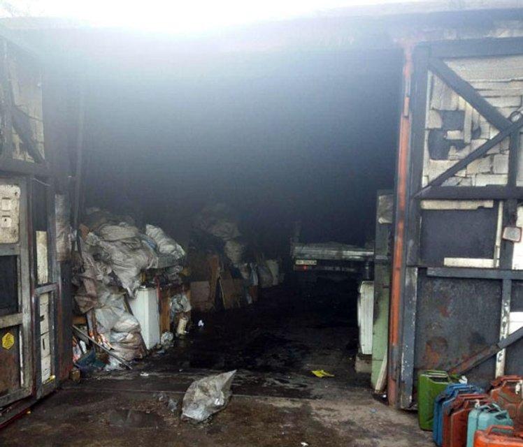 Обстановка на складе после пожара - фото 94573