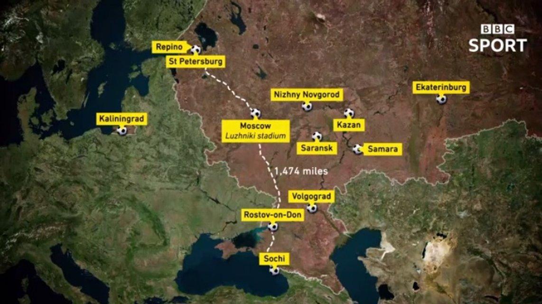 Карта BBC с 'российским' Крымом - фото 94116