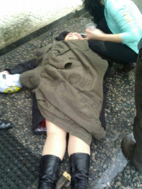 В Жмеринке замглавы города избил женщину-депутата 'УКРОПа' - фото 97175