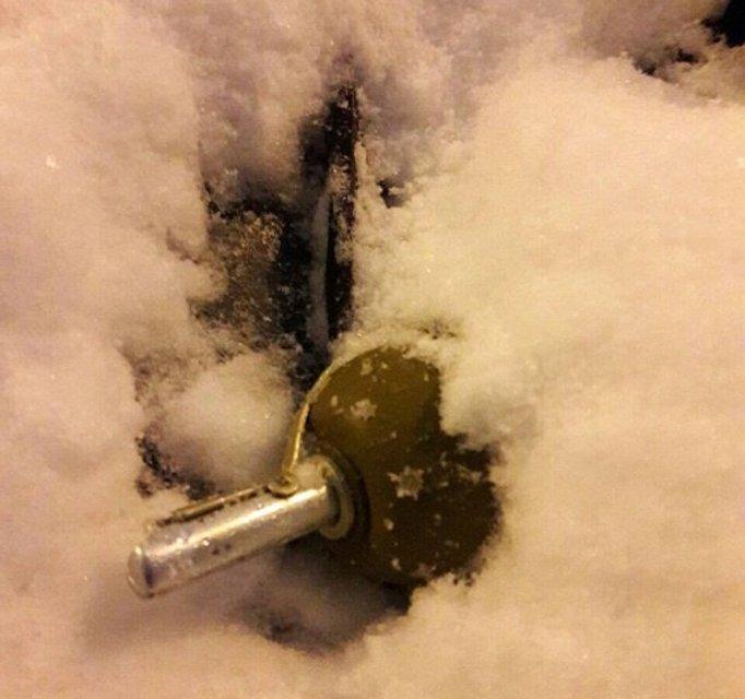 В центре Киева чиновник на своей машине нашел гранату - фото 98001