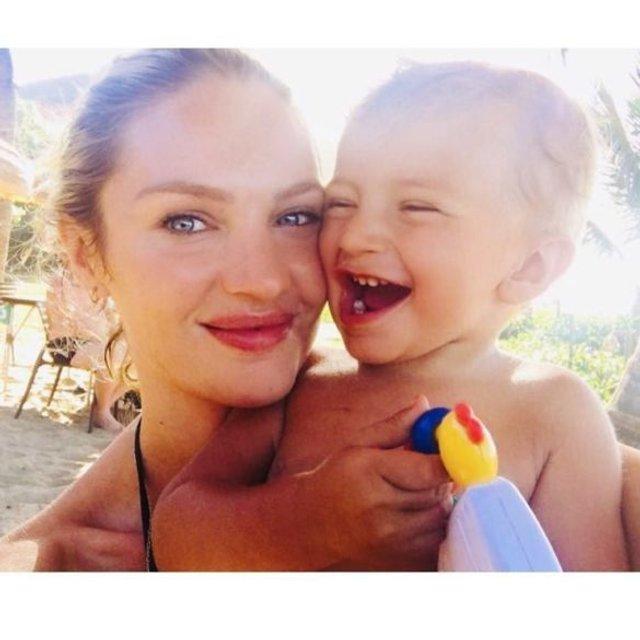 Кэндис Свейнпол беременна во второй раз - фото 97747