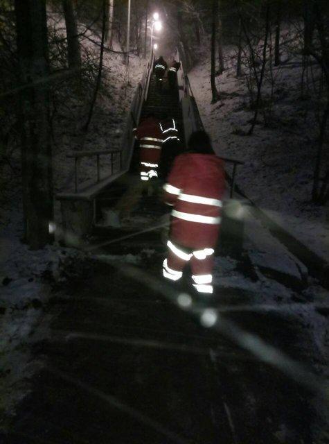 Киев замело снегом: на дорогах работает вся имеющаяся техника - фото 96225