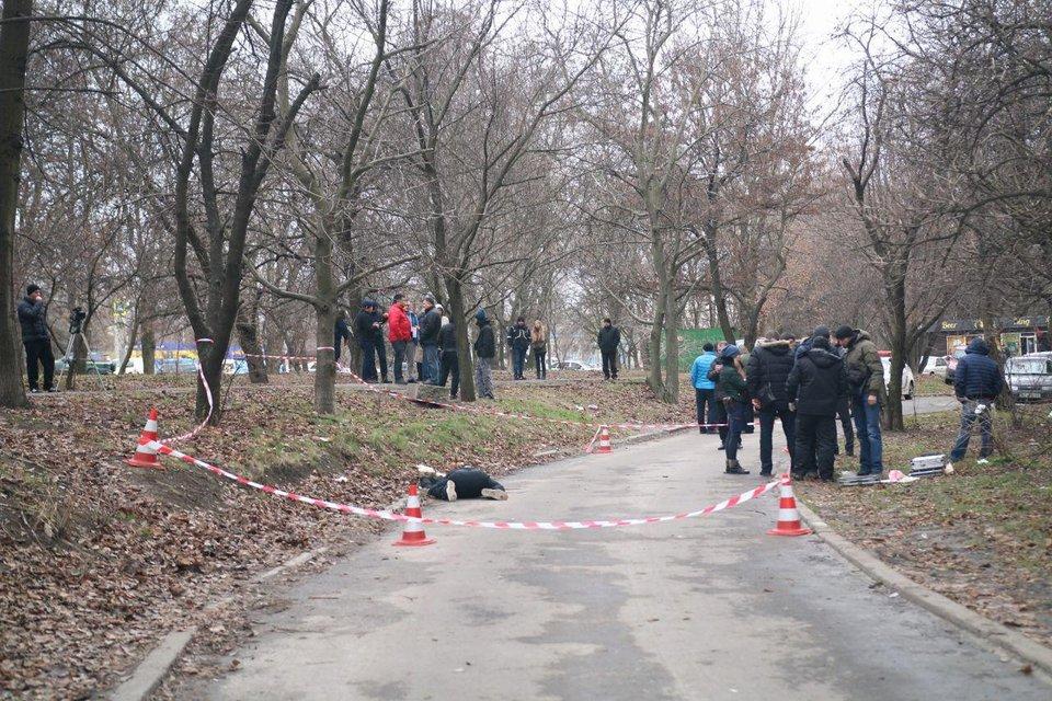 В Днепре неизвестные расстреляли мужчину - фото 95639