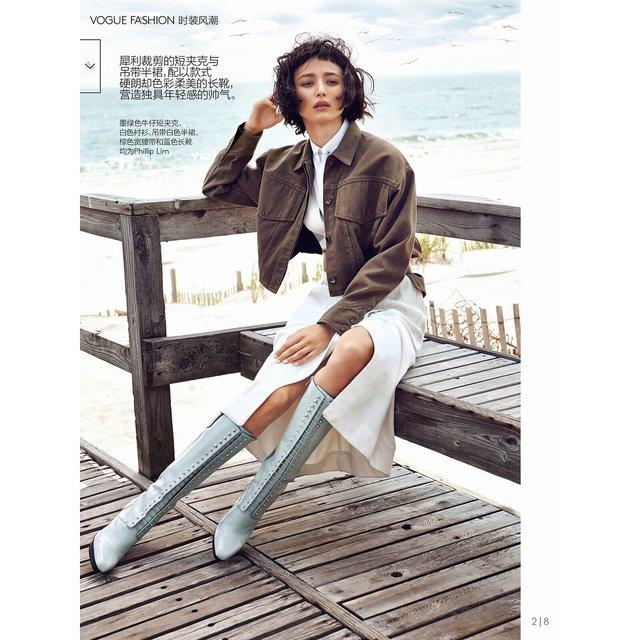 Крымскотатарская модель украсила обложку всемирно известного глянца - фото 95690