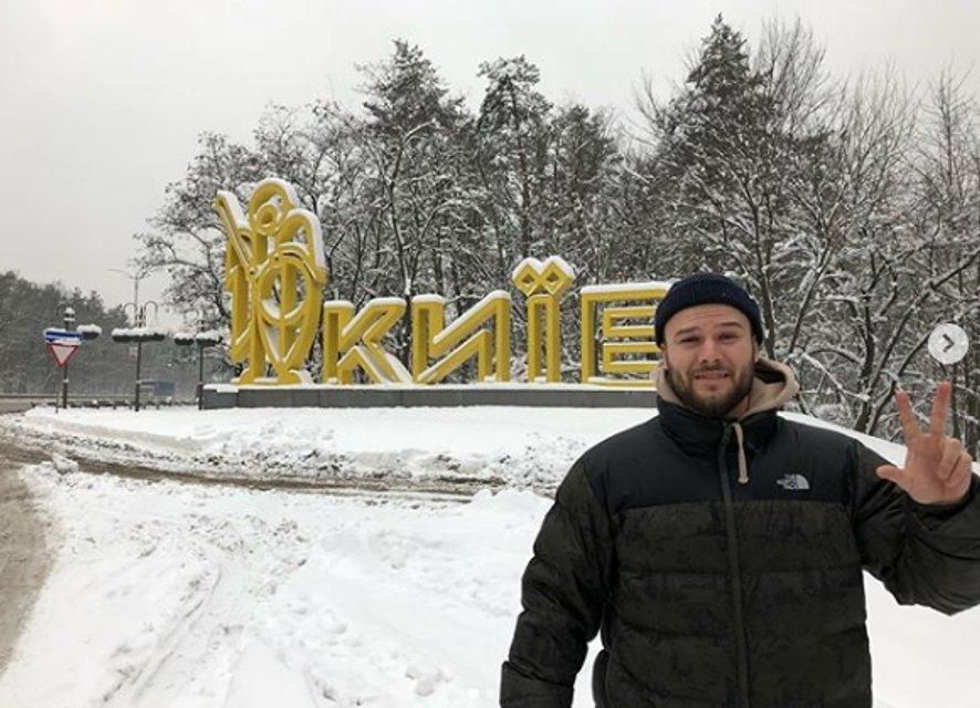 Прорвался: Макс Корж уже в Киеве, готовится к концерту - фото 98743