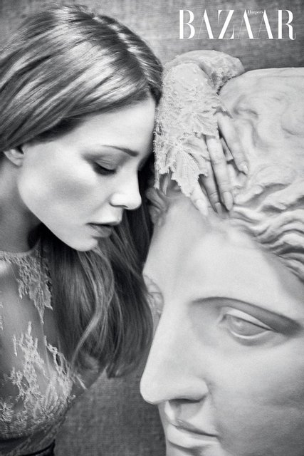 Тина Кароль разделась для откровенной фотосессии модному глянцу, ФОТО - фото 99290