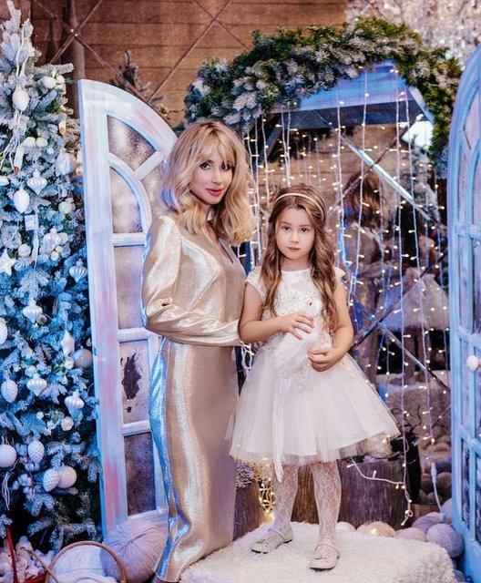 Светлана Лобода с дочерью Евой - фото 100253