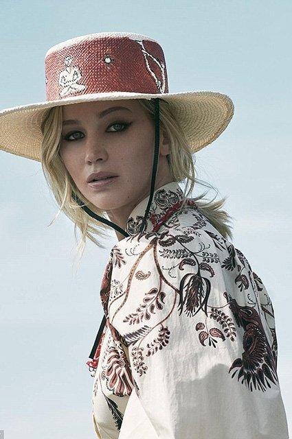 Дженнифер Лоуренс очаровывает в новой рекламе Dior - фото 98513