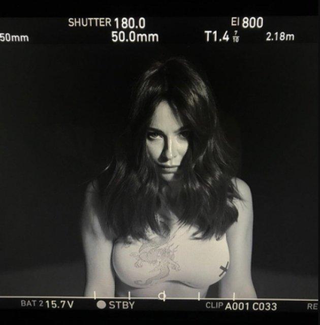 Ани Лорак показала тизер клипа 'Новый бывший', в котором ей увеличили грудь - фото 95250