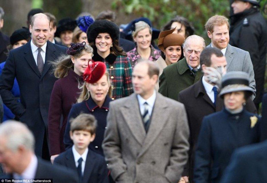 Кейт Миддлтон, Меган Маркл, принцы Уильям и Гарри - фото 99184