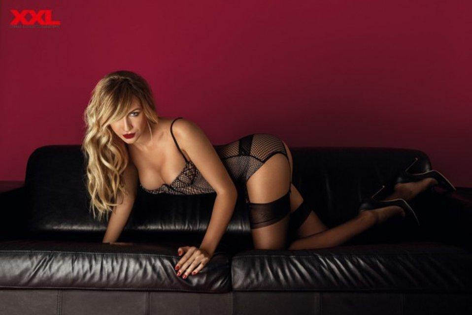 Леся Никитюк снялась в откровенной фотосессии для мужского журнала - фото 99251