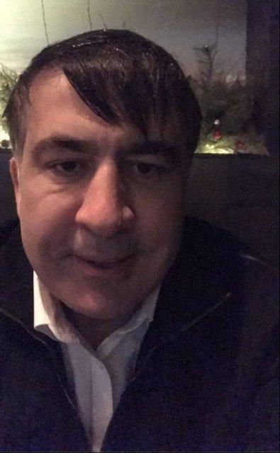 Михеил Саакашвили в Киеве - фото 99089