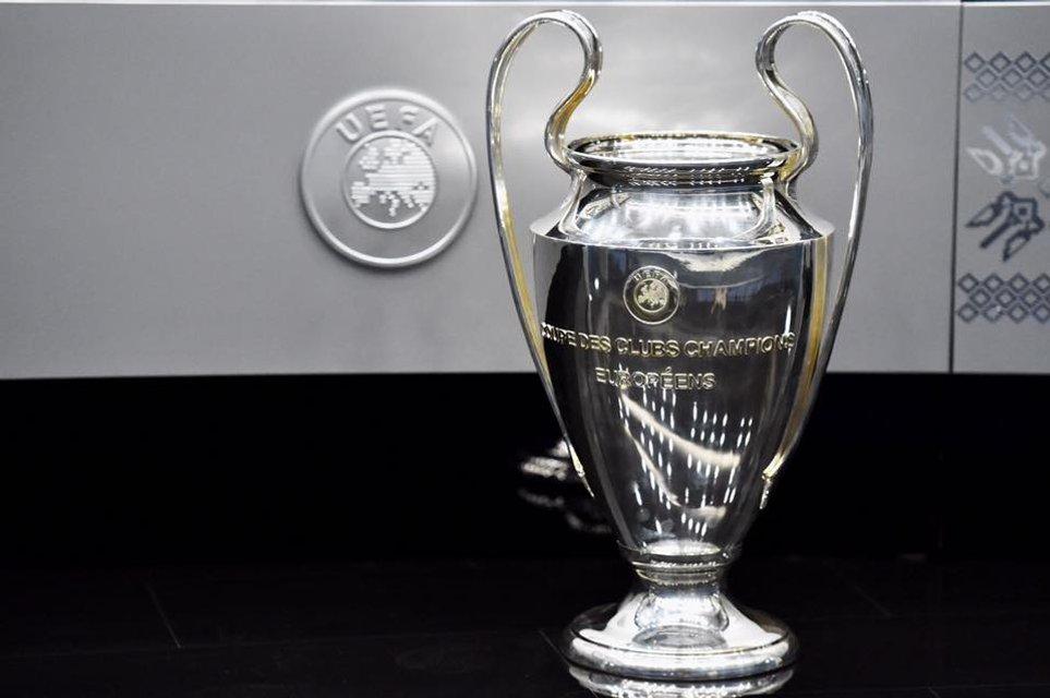 Финал Лиги чемпионов-2018: в Киеве презентовали логотип и кубки - фото 96587
