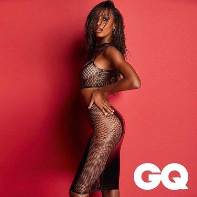 Жасмин Тукс обнажилась для мужского журнала, 18+ - фото 95651