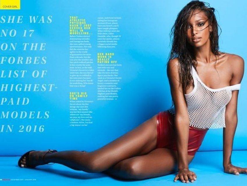 Жасмин Тукс обнажилась для мужского журнала, 18+ - фото 95649