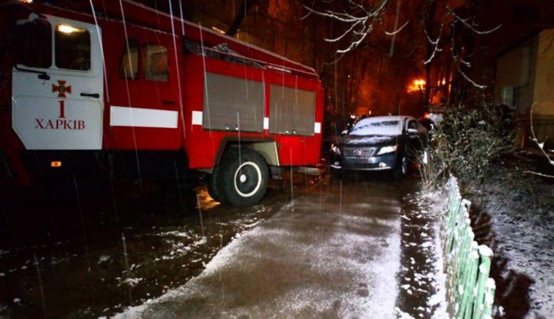 В Харькове взорвали автомобиль - фото 95341