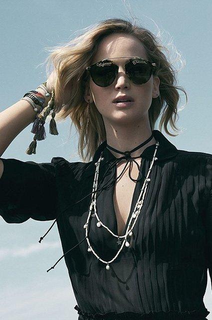 Дженнифер Лоуренс очаровывает в новой рекламе Dior - фото 98514