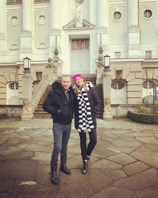 Олег Винник сводил Катю Осадчую на пиво - фото 98802
