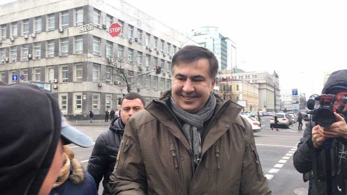 Импичмент Порошенко: Саакашвили участвует в марше - фото 94526