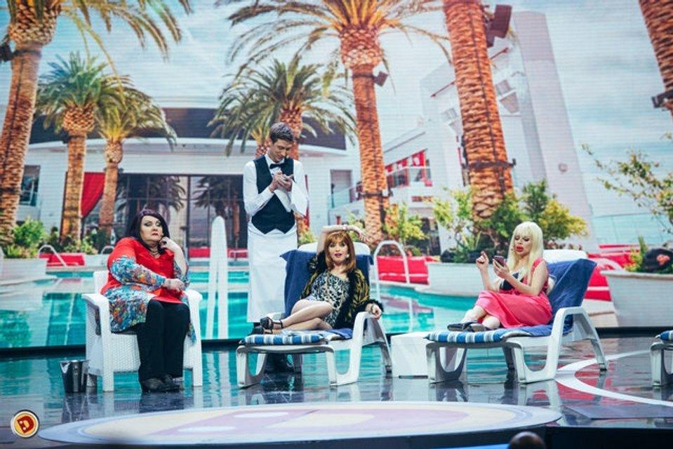 Дизель шоу: Яна Глущенко в откровенном наряде похвалилась идеальной фигурой - фото 95030