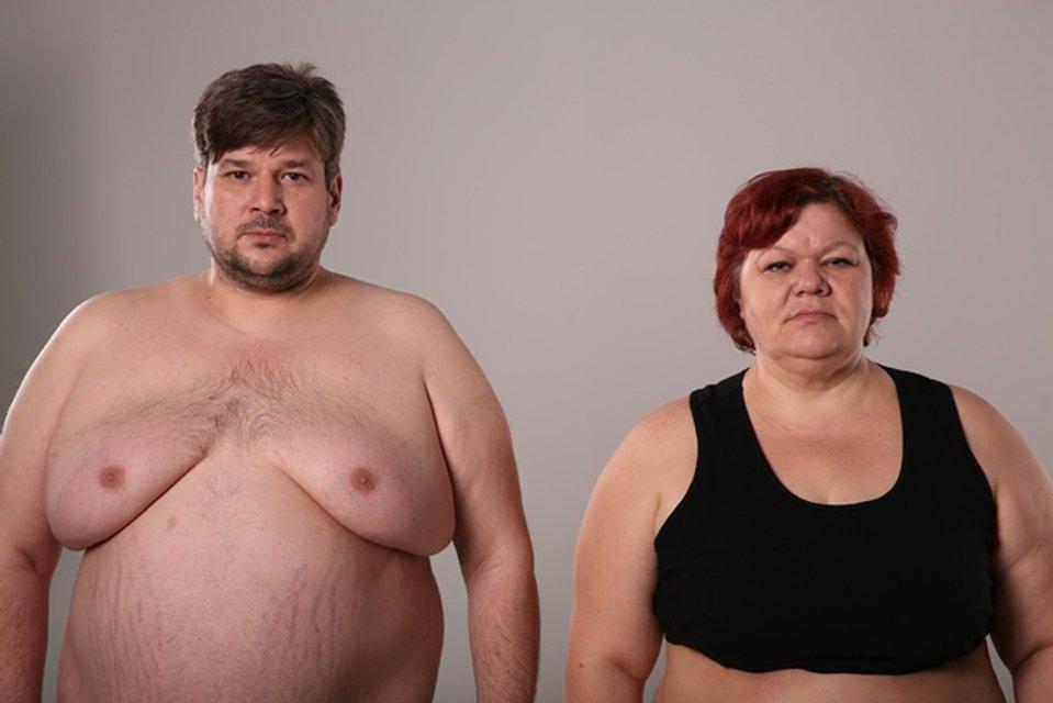 Финал Зважені та щасливі 7 сезон: победители домашнего похудения пара Александр и Лидия Бойко - фото 99938